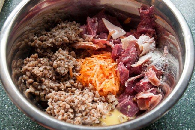 гречка с мясом для собаки